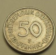 1980 - Allemagne - Germany - 50 PFENNIG, (F), KM 109.2 - [ 7] 1949-… : FRG - Fed. Rep. Germany