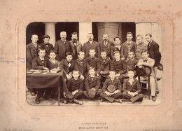 Vieux Papiers > Non Classés Photographie Moulins Lycée Banville 1897 / 98 - Alte Papiere