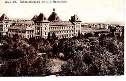 Wien Türkenschanzpark Mit K. K. Hochschule - Non Circulé - Unclassified