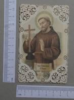 SANTINHOS    - SAN FRANCISCO D'ASSISI  -   2 SCANS  - (Nº21991) - Religión & Esoterismo