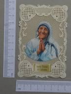 SANTINHOS    - SANTA TERESA DI CALCUTTA  -   2 SCANS  - (Nº21994) - Religión & Esoterismo