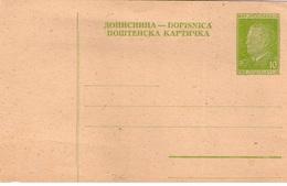 TITO Post Card 10 UNC - Non Classificati