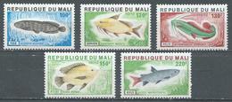 Mali YT N°258/262 Poissons Neuf ** - Mali (1959-...)