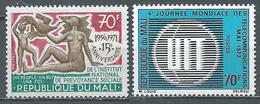 Mali YT N°169-170 Institut National De Prévoyance Sociale - Journée Mondiale Des Télécommunications Neuf ** - Mali (1959-...)