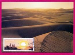 NAMIBIA, 1999, Maxi Card , Sunset Of Namibia,  Sa316, F3839a - Namibië (1990- ...)