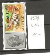 Aitutaki, Année 1978, Coquillage, Surchargé O.H.M.S. - Aitutaki