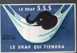 Buvard DRAP 3+3+3 (avec Un éléphant) (PPP8417) - Textile & Clothing
