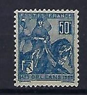 """FR YT 257 """" Jeanne D'Arc """" 1929 Neuf** - France"""