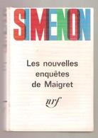 SIMENON - Les Nouvelles Enquêtes De Maigret - NRF Gallimard, 1964 - Deuxième Numéro D'un Série De 5 Volumes Reliés - Simenon
