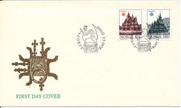 Norway FDC EUROPA CEPT 2-5-1978 With Cachet - Europa-CEPT