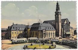 """CARTE POSTALE LUXEMBOURG """"LA GARE"""" - Luxembourg - Ville"""