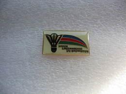 """Pin's Du Club De Badminton """"Union Lausannoise De Badminton"""" - Badminton"""