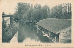 91) VILLEMOISSON-SUR-ORGE : La Rivière - Lavoir - France