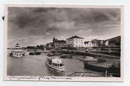 Königswinter Am Rhein..PROMENADE SUR LE RHIN...BATEAUX..NON CIRCULEE - Koenigswinter