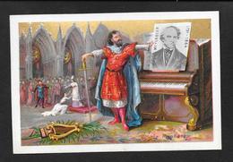 Grand Chromo MEYERBEER '' Le Prophete''- 8,4x12,5 OTTIMO STATO - Chromos