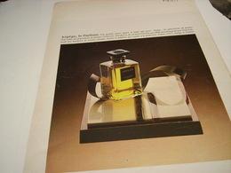 ANCIENNE AFFICHE PUBLICITE PARFUM ARPEGE DE LANVIN 1980 - Parfums