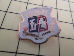 Pin711e Pin's Pins : Rare Et Belle Qualité : VILLES / LOVIERS LA FRANCE BLASON ECUSSON ARMOIRIES - Cities