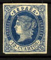 2509- España Nº 59 - 1850-68 Kingdom: Isabella II