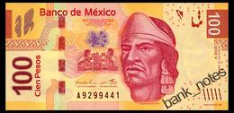 MEXICO SERIES V 100 PESOS 2012 Pick 124v Unc - Mexico