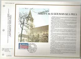 Abbaye De St Germain Des Prés, 1979 , Paris,  Document De La Poste, Frais Fr 1.55 E - Postdokumente
