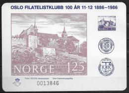 Norvège, 1986 Bloc Semi Officiel Neuf, MB19 Tirage 50000 - Blocs-feuillets