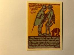 Allemagne Notgeld Ribnitz 10 Pfennig - [ 3] 1918-1933 : Weimar Republic