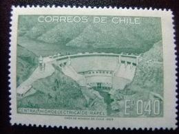 CHILE 1969  Central Hydroelectrica De Rapel Yvert 336 ** MNH - Chile