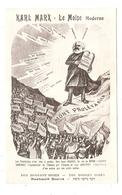 CPA Karl Marx Le Moïse Moderne Politique - Persönlichkeiten