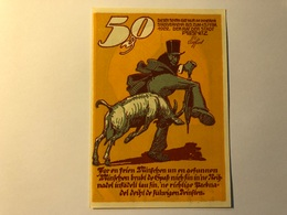 Allemagne Notgeld Ribnitz 50 Pfennig - [ 3] 1918-1933 : Weimar Republic