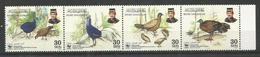 BRUNEI DARUSSALAM - MNH - Animals - Birds - WWF - Birds