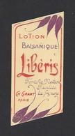 Etiquette Lotion Balsamique Pour Facilité La Frisure  -  Libéris   -  Ch. Grant Parfumeur à Paris - Labels