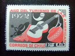 CHILE 1972 Productos Artesanos TURISMO Yvert 392 ** MNH - Chile