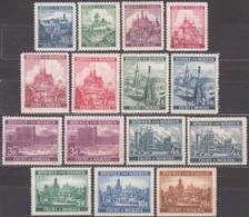 2/ Bohemia & Moravia; ** Nr. 28-40, Complete Set Include Types And Colors - Neufs