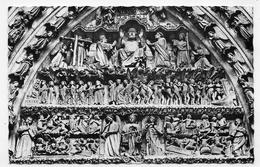 AMIENS - N° 259 - PORTAIL DE LA CATHEDRALE - LE JUGEMENT DERNIER - FORMAT CPA NON VOYAGEE - Amiens