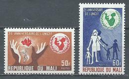 Mali YT N°156/157 UNICEF Neuf ** - Mali (1959-...)