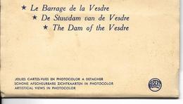 Eupen Barrage De La Vesdre 8 Cartes Vues Couleurs Carnet - Eupen