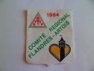 Flandres Artois Ecusson Comite Regional 1984ECUSSON EN TISSU - Unclassified