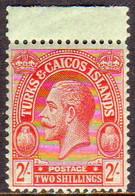 TURKS AND CAICOS ISLANDS 1922 SG #174 2sh MNH Wmk Mult.Crown CA CV £25 - Turks And Caicos