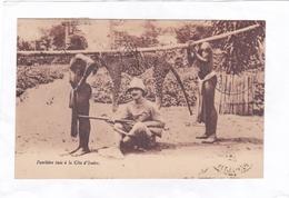 (CPA : 14 X 9)  -  Panthère Tuée à La Côte D'Ivoire - Ivory Coast
