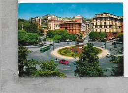CARTOLINA VG ITALIA - GENOVA - Piazza Corvetto - 10 X 15 - ANN. 1976 - Genova