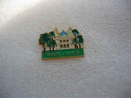 Pin's De Monte Carlo - Cities