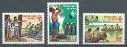 Mali YT N°147/149 Scoutisme Neuf ** - Mali (1959-...)