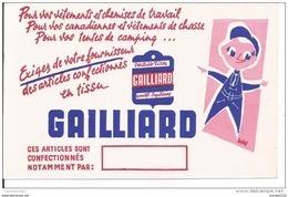 Buvard - Gailliard. Vêtements Et Chemises De Travail - Textile & Clothing