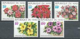 Mali YT N°164/168 Fleurs Neuf ** - Mali (1959-...)