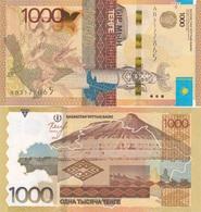 Kazakhstan - 1000 Tenge 2014 UNC Ukr-OP - Kazakhstan