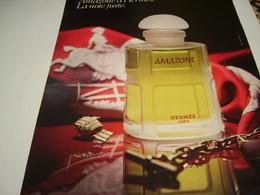 ANCIENNE AFFICHE  PUBLICITE PARFUM AMAZONE DE HERMES 1980 - Parfums & Beauté