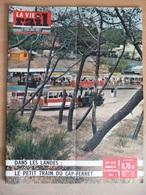 Vie Du Rail 813 Septembre 1961 Djebel Onk Port De Bouc Colomars Témoins Jéhovah Cap Ferret Villeneuve Saint Georges - Trains