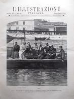 L'illustrazione Italiana 1 Agosto 1897 Guglielmo Marconi Fortis Liguria Chiesa - Ante 1900
