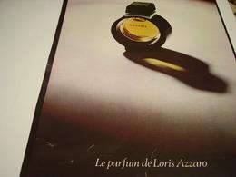ANCIENNE AFFICHE  PUBLICITE PARFUM AZZARO  1980 - Perfume & Beauty