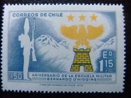 CHILE 1972 Escuela Militar Yvert 379 ** MNH - Chile